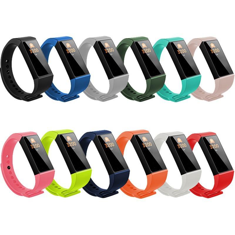 小米手環4C多彩防水矽膠替換錶帶腕帶 小米錶帶 紅米錶帶 廠商直送 現貨