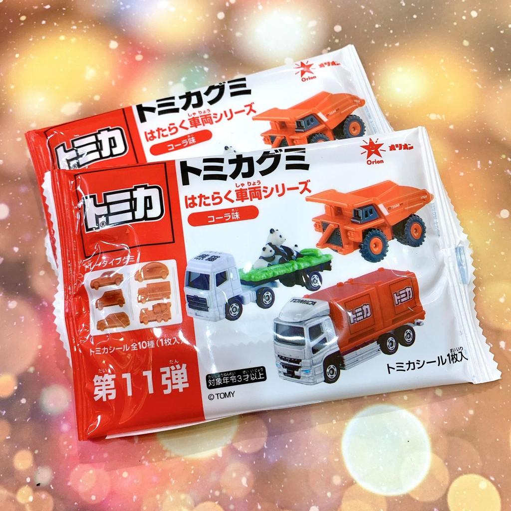 日本代購~現貨!!!日本 TOMICA 多美汽車軟糖(可樂味)