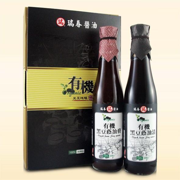 有機黑豆蔭油精裝(單組)