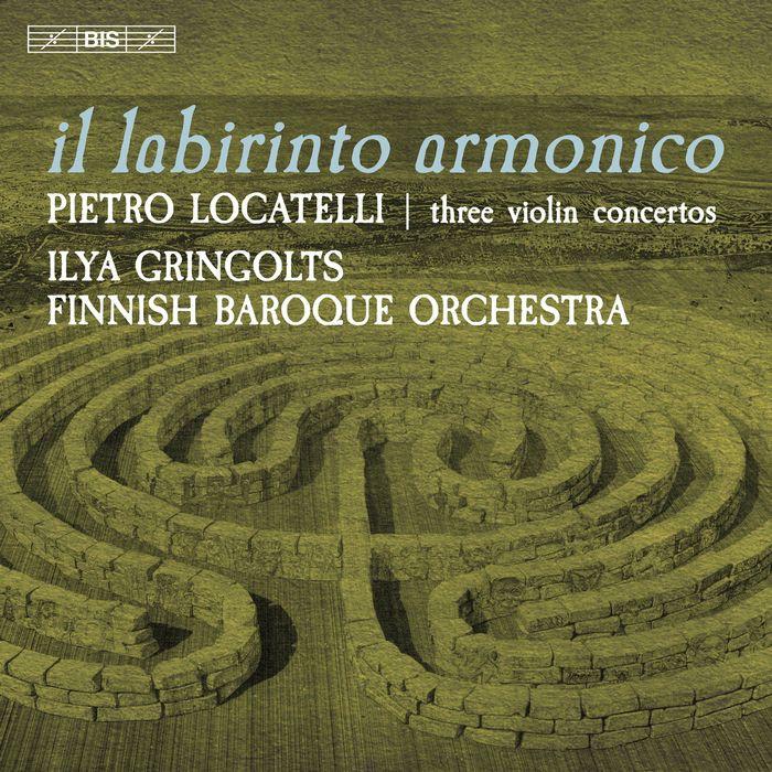 羅卡泰利 小提琴協奏曲 葛林戈斯 Locatelli Il Labirinto Armonico SACD2445