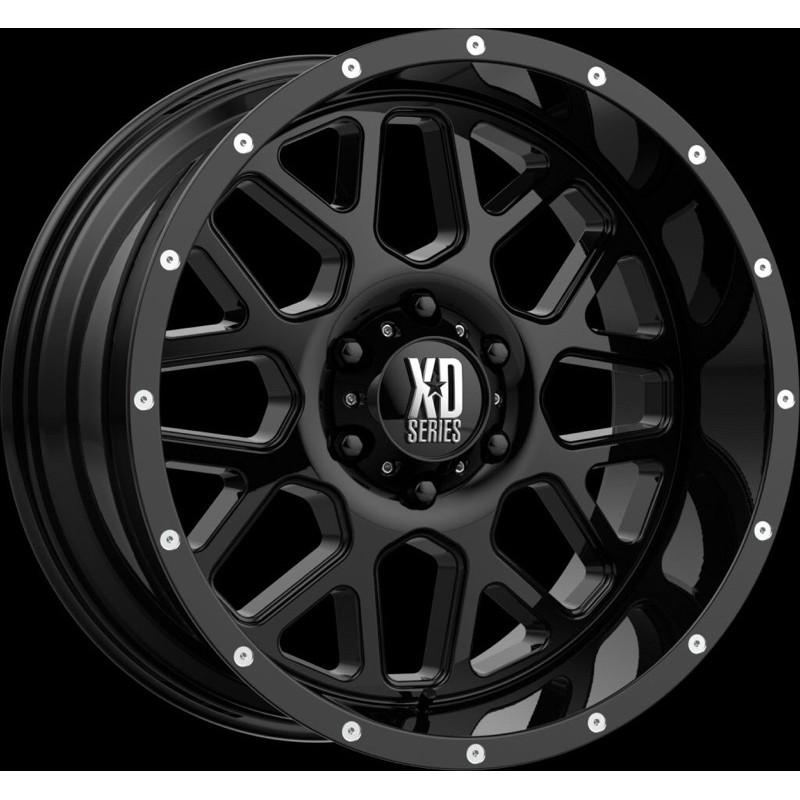 高雄人人輪胎 XD Wheels XD820 GRENADE 18吋 越野 鋁圈 5孔 114.3 120 越野框 載重