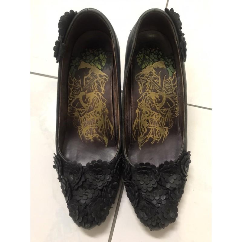 🆘清倉大降價🆘Macanna麥肯納雅緻花朵高跟鞋