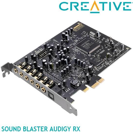 【MR3C】含稅 CREATIVE 創新未來 Sound Blaster Audigy RX PCI-E音效卡