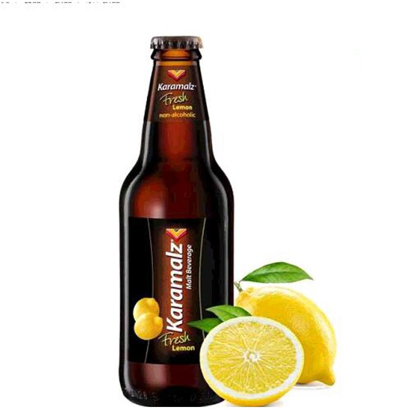 單次運費限購一組 KARAMALZ LEMON MALT DRINK 德國黑麥汁檸檬口味 每瓶330毫升 C211689