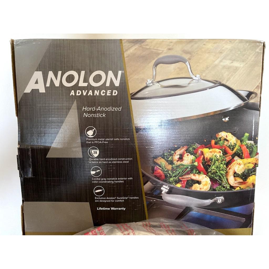 ANOLON 不沾鍋炒鍋 36cm (有蓋子)