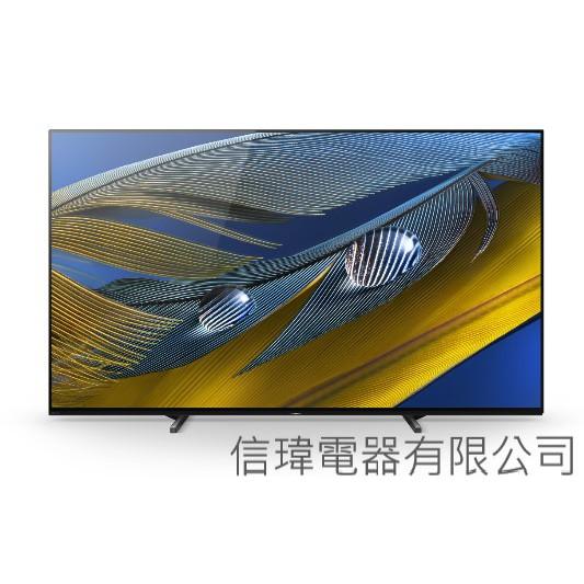 【信瑋電器】SONY BRAVIA XR A80J系列-新品正式販售
