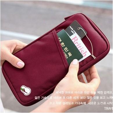 買一送一(送卡套)多功能護照夾護照包