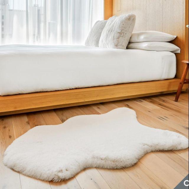 Costco代購  Mon Chateau 仿毛皮地毯 60 x 99 公分