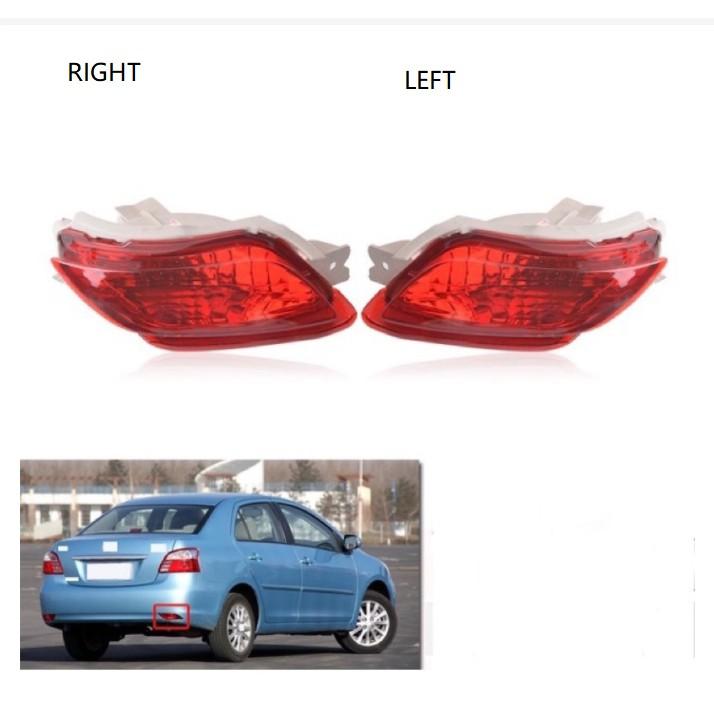 豐田 VIOS NCP93 2008 2009 2010 2011 2012 2013 後剎車剎車燈的自動後保險槓燈