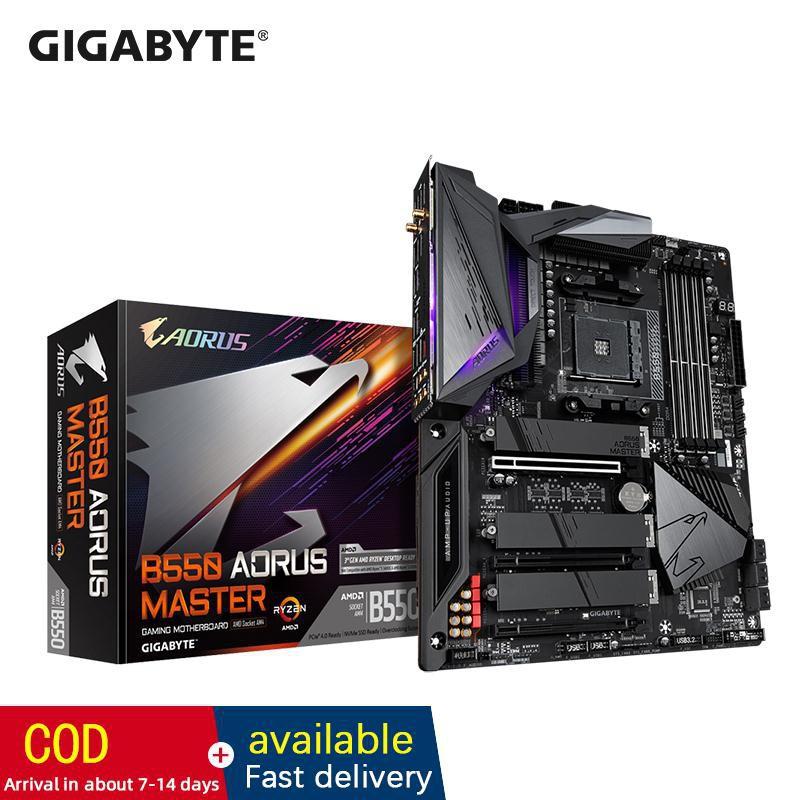 技嘉 B550 台式計算機主板 Amd 支持 R7 3700x / 3800x R9 3900x 3950