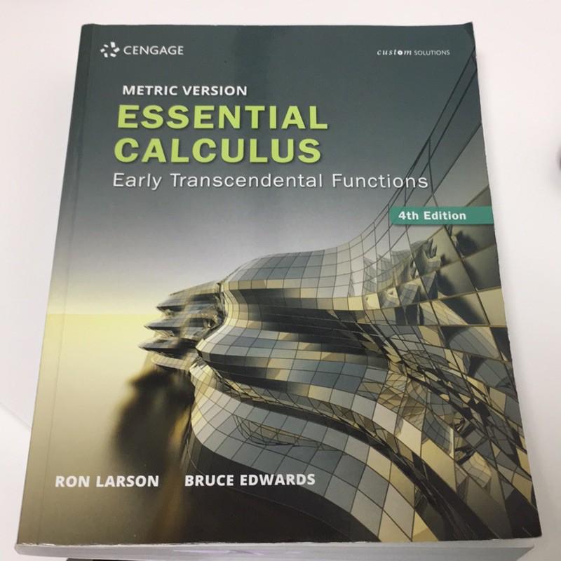 Essential Calculus 4/E