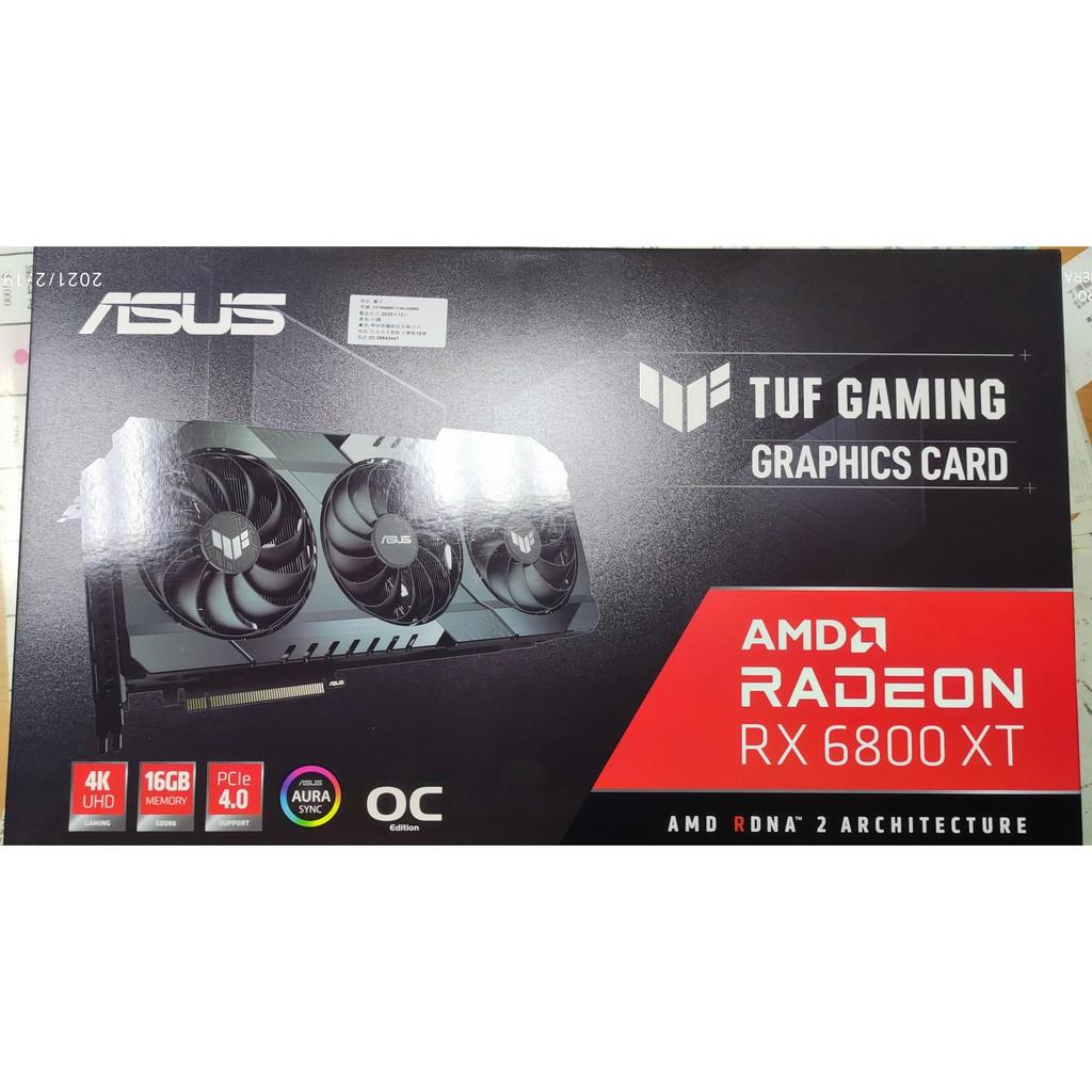 華碩 ASUS TUF-RX6800XT-O16G-GAMING AMD 6800XT 算力63 現貨