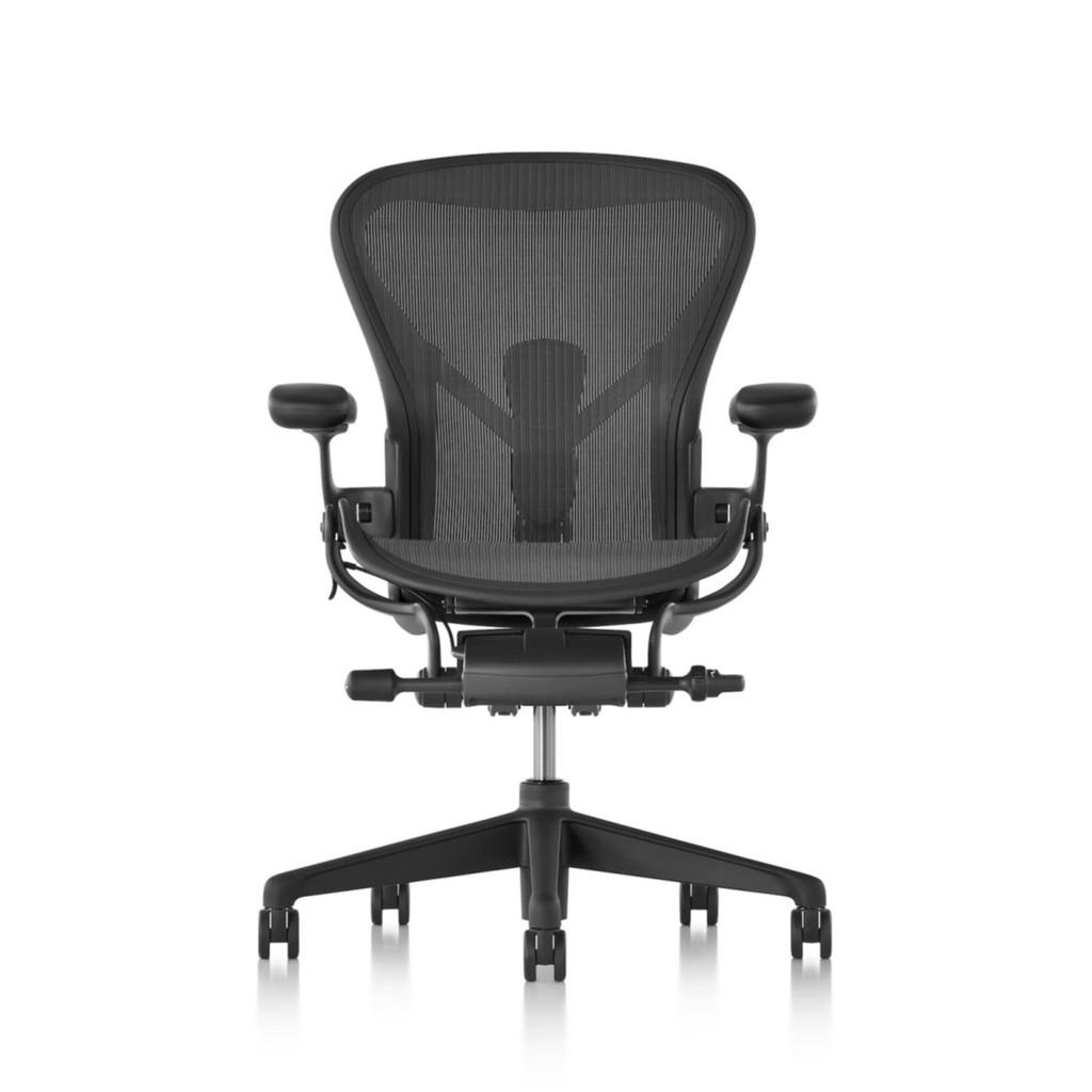 【美國製造】Herman Miller Aeron 2.0版 全功能 4D扶手 帶前傾 二代人體工學椅 辦公椅 電腦椅