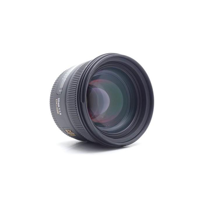 【台中青蘋果】Sigma 50mm f1.4 DG EX HSM for Canon 二手 鏡頭 #54863