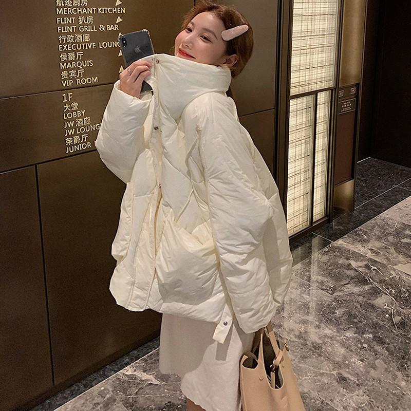 冬季外套棉襖短款棉衣ins港風韓版寬鬆羽絨棉服oversize女潮