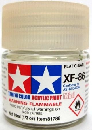(田宮) 水性漆 XF-86 消光透明保護漆 貨號:XF86 臺北市