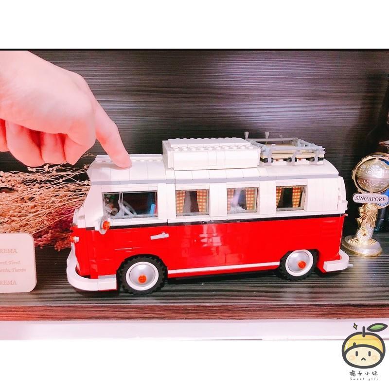 【橘子小妹】LEGO 10220 T1福斯露營車