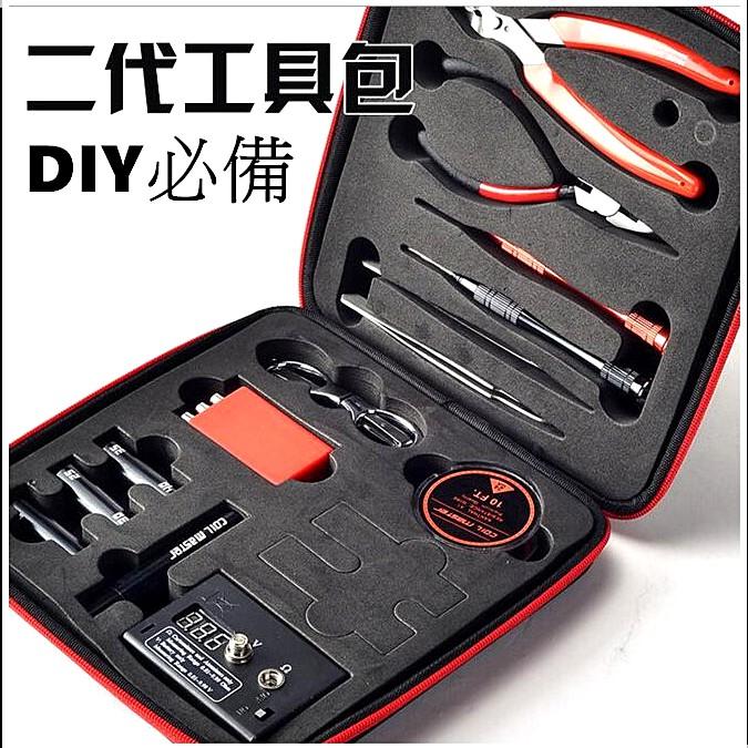 【sw。美妝】『工具包』Coil Master Diy kit V2 二代 非三代 Coil Diy 神盾 收納包
