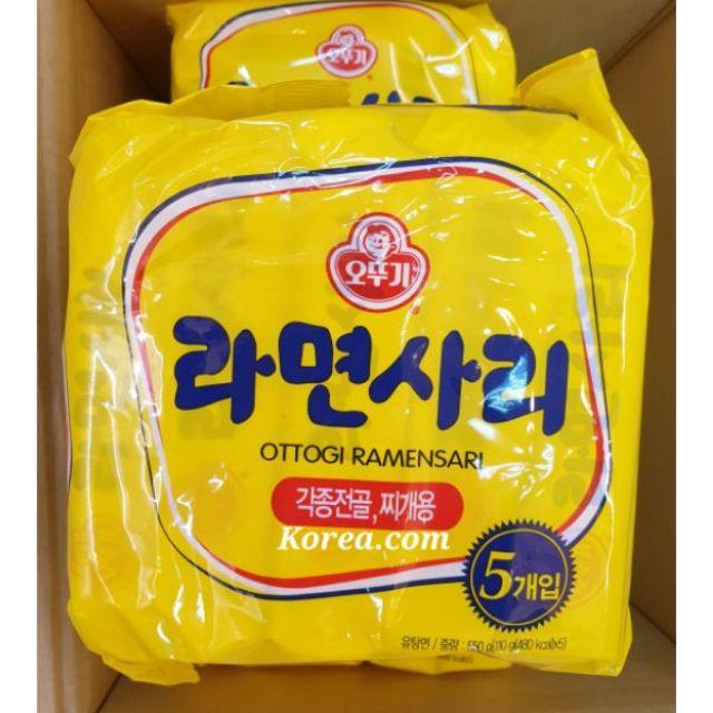 【現貨~出貨最快速】韓國不倒翁 純麵條/Q麵條/火鍋必備/非素食(5包/袋)