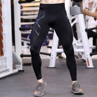 【胖子哥】當天出貨 男生衣著2XU快乾褲男褲緊身褲健身教練路跑騎行瑜伽戶外吸濕排汗壓縮褲運動服飾男生長褲