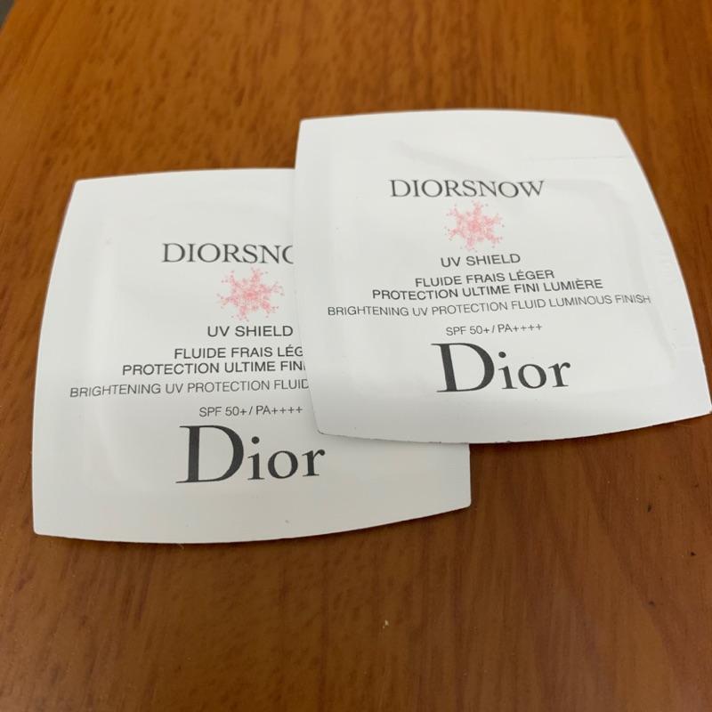 《正品》Dior 迪奧 雪晶透亮隔離霜 試用包1ml