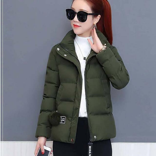✿✐冬季新款加厚保暖棉服韓版寬松棉衣女短款時尚小棉襖百搭外套