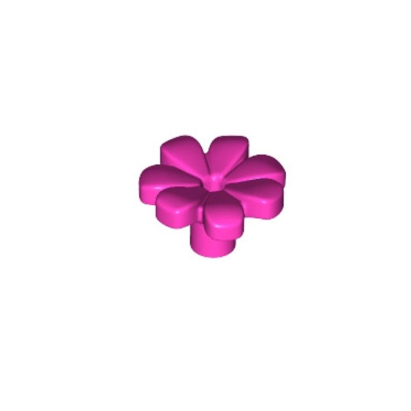 木木玩具 樂高 Lego 櫻花 零件 32606  6206151 DARK PINK FLOWER 21318 樹屋