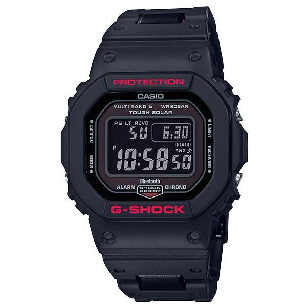 CASIO G-SHOCK GW-B5600HR-1DR BLUETOOTH藍牙錶(黑X紅)