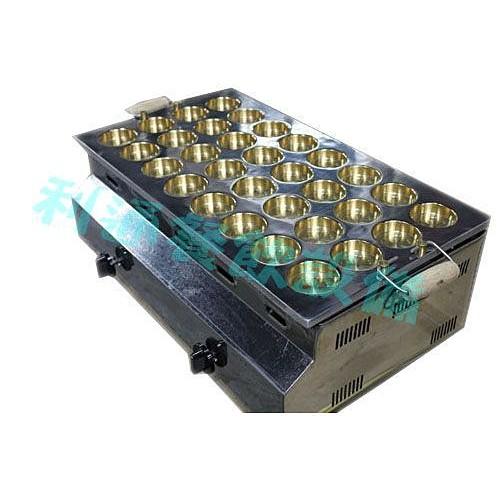 《利通餐飲設備》紅豆餅爐-32洞 電子點火 方形 紅豆餅爐  1