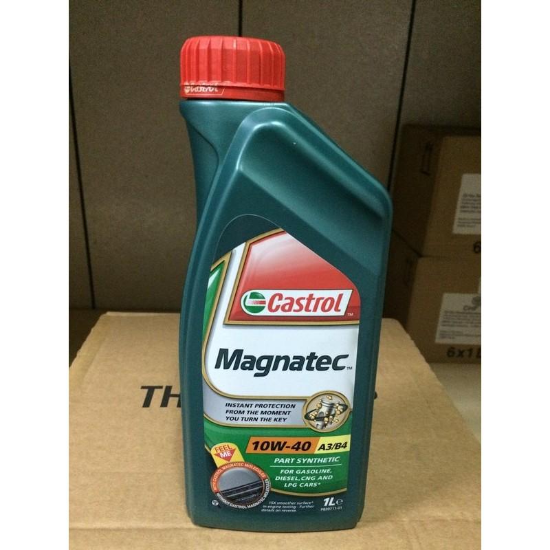 單買區-【Castrol 嘉實多】Magnatec、10W40、全合成機油、1公升/罐裝【引擎系統】
