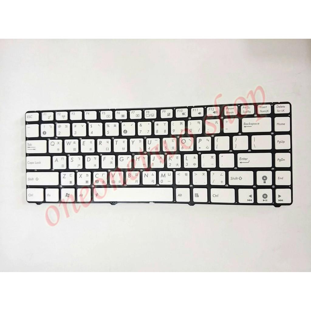 華碩 ASUS U36 U36J U36JC U36S U36SD U36SG AS30 繁體 中文 鍵盤