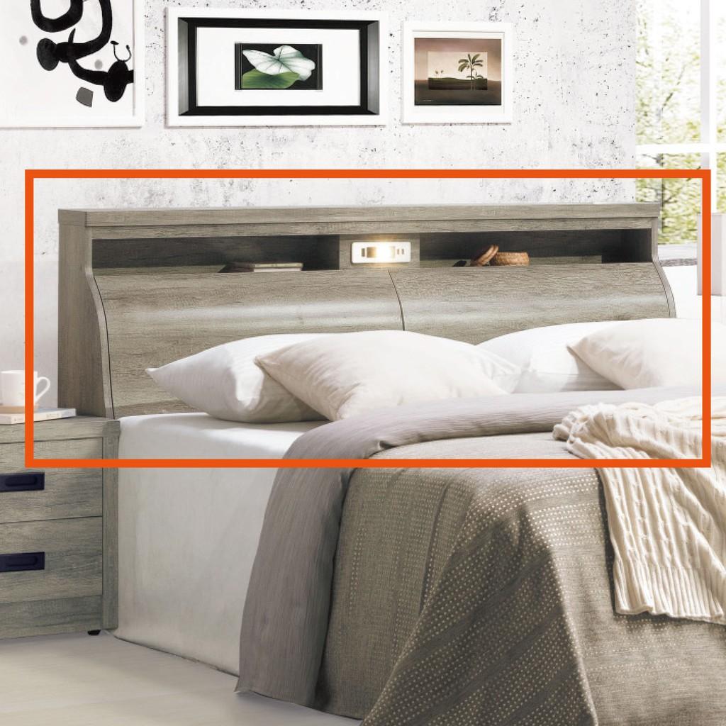 【182.4cm床頭-K69-5021】床頭片 床頭櫃 單人床片 貓抓皮 亞麻布 貓抓布 【金滿屋】