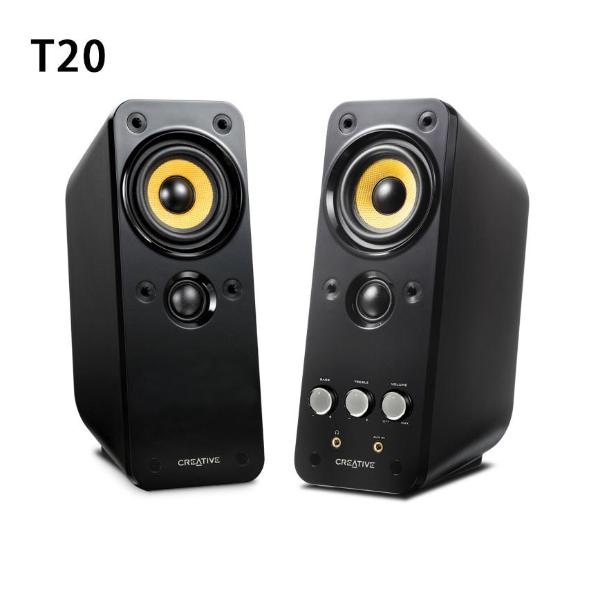 【漾屏屋】Creative 創巨 創新未來 喇叭 GigaWorks 二件式喇叭 T20 T40 T100 Series
