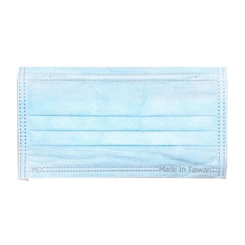 富璟 中大童平面醫用口罩(未滅菌/雙鋼印)-藍(50入/盒裝)(衛生用品,恕不退貨,無法接受者勿下單)