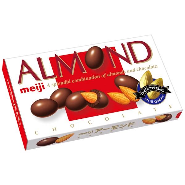 明治杏仁巧克力88g