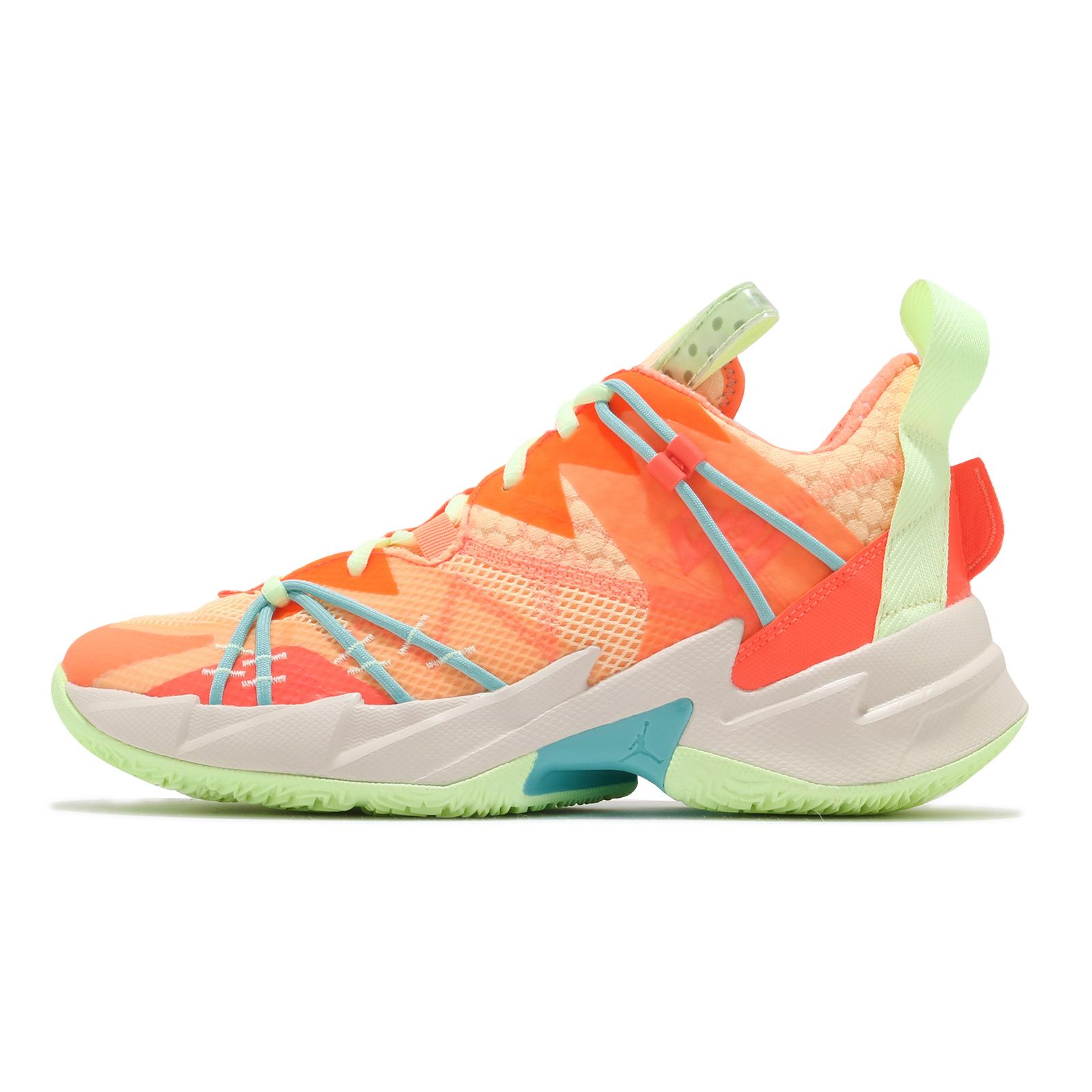 Nike 籃球鞋 Jordan Why Not Zer0.3 SE PF 橘 綠 男鞋 【ACS】 CK6612-800