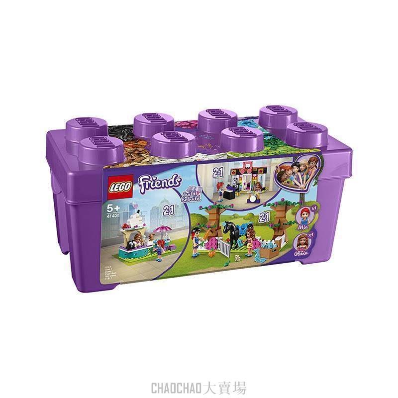 LEGO/ LEGO 樂高 好朋友系列 心湖城積木盒 41431