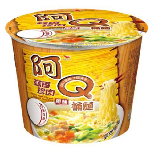 阿Q桶麵 蒜香珍肉👉台灣傳統好味道 泡麵 愛呆玩