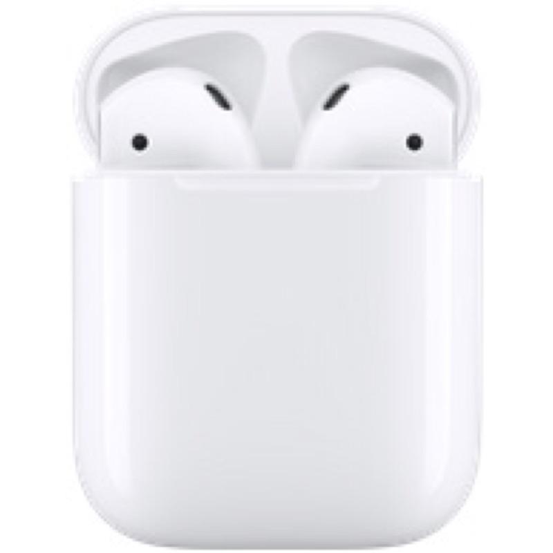 Apple AirPods 1代(二手)附贈elago紫色保護套