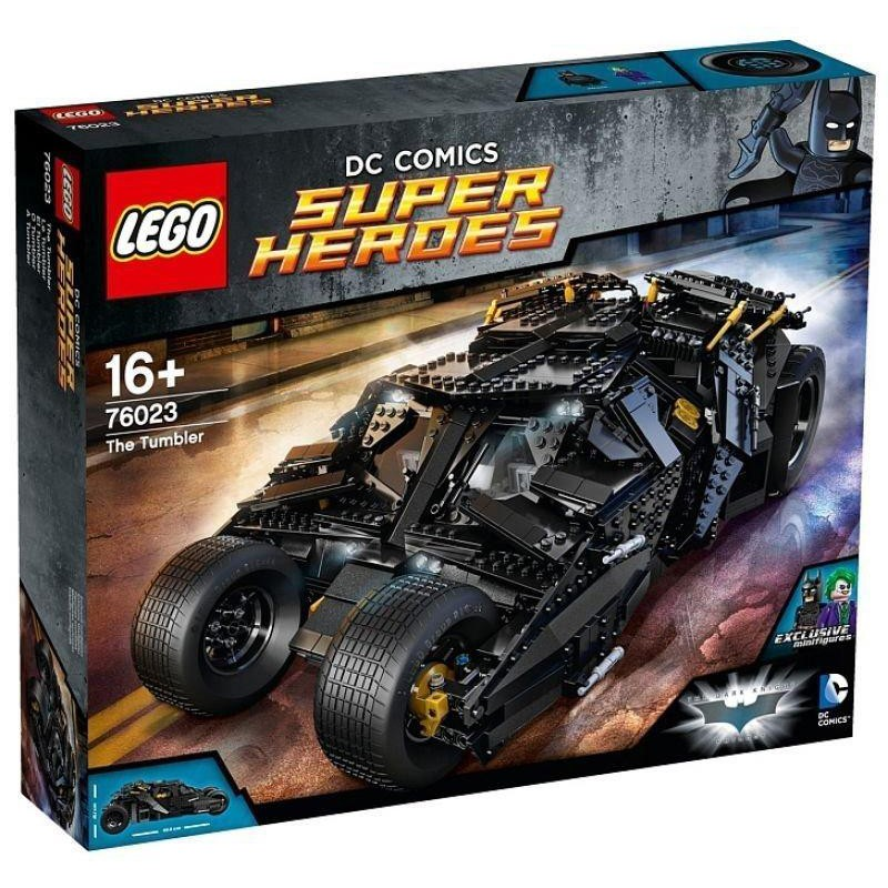 Lego 76023 蝙蝠車 (二手有盒有書無缺)