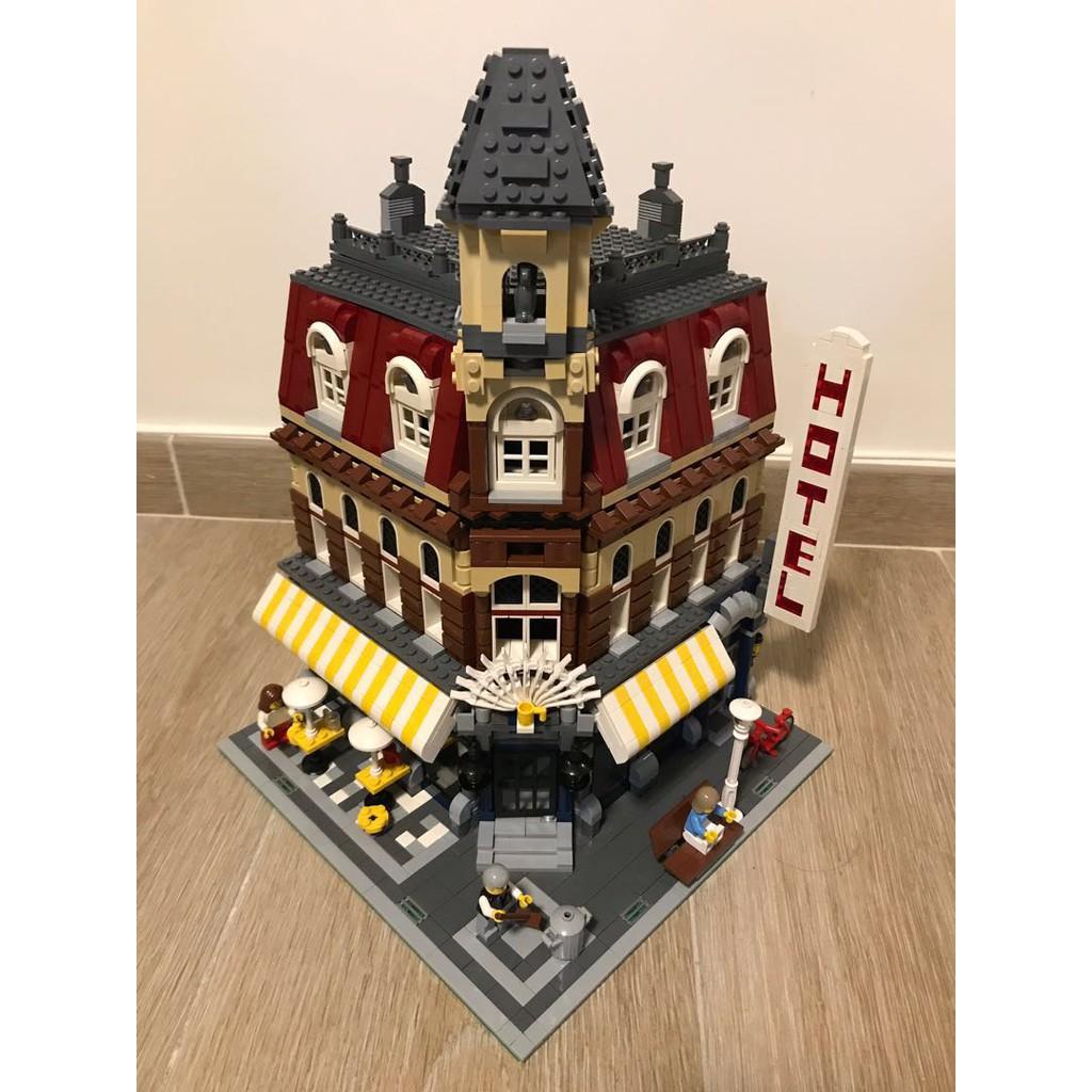 LEGO 樂高 10182 轉角咖啡廳 街景三兄弟 絕版品 二手 已組 10185 10190 10197 10224