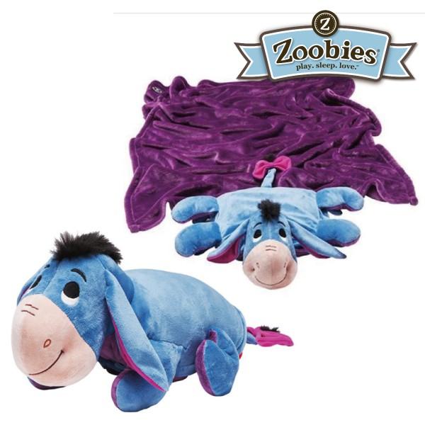 【麗兒采家】美國 Zoobies 三合一多功能玩偶毯/毯子/毛毯【正版授權】- 多莉Dory(禮盒裝)