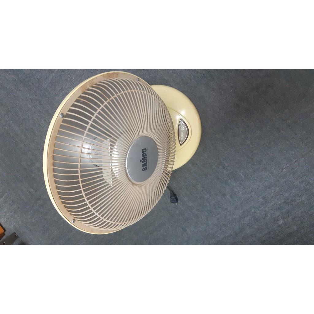 SAMPO電暖器小型取暖器 家用迷你電熱扇 13寸家用電暖器速熱小太陽電暖爐學生宿舍靜音