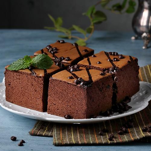熔岩巧克力日式天使冰蛋糕