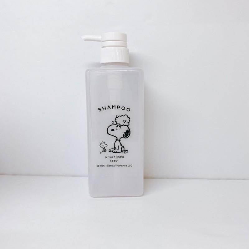 snoopy 史努比 沐浴罐 塑膠罐 洗手乳 沐浴乳補充罐 沐浴瓶 塑膠瓶 空瓶