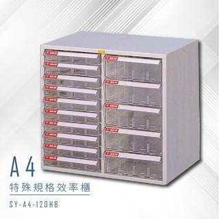 【特殊規格∥有效率】大富 SY-A4-120HB A4特殊規格效率櫃 組合櫃 置物櫃 多功能收納櫃 臺北市
