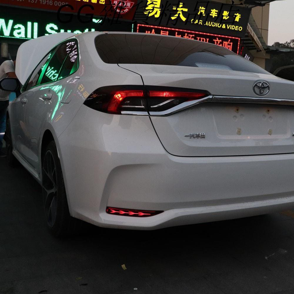 豐田 TOYOTA ALTIS 12代 19-21年 LED 三功能 後霧燈 後杠燈 煞車燈 轉向燈 魚骨款GG精品