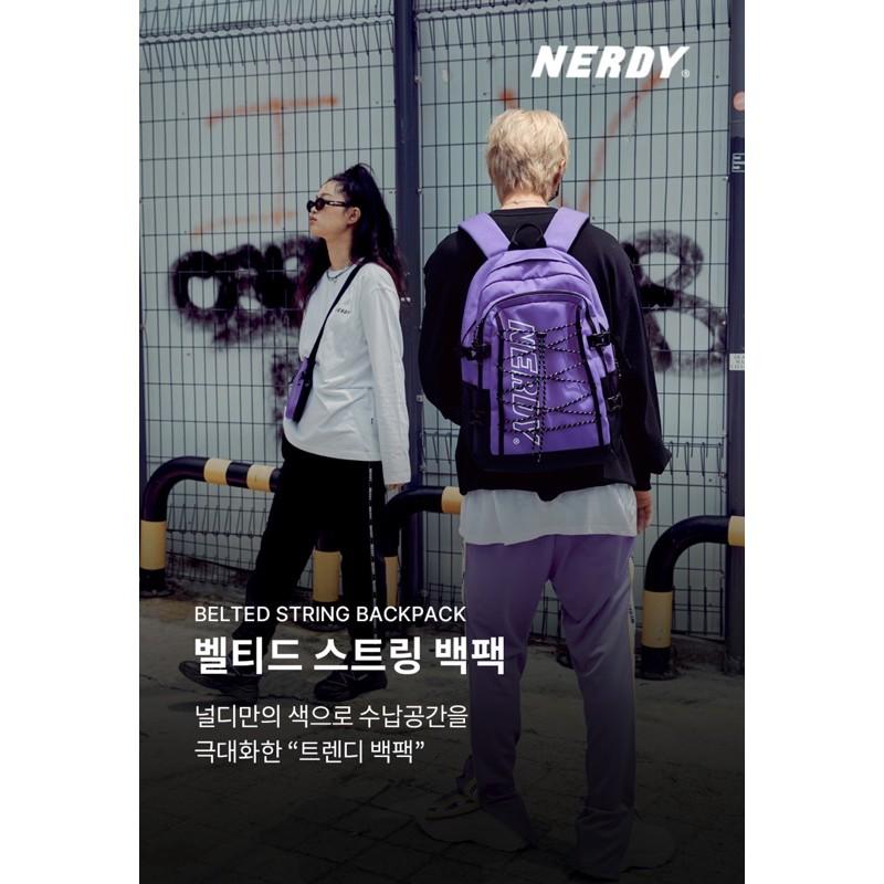 Nerdy 20FW 抽繩後背包