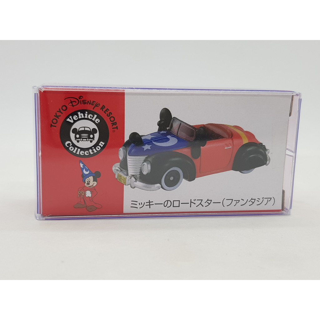 【小車停車場】 TOMICA 迪士尼 米奇 魔法 敞篷車 全新 附膠盒