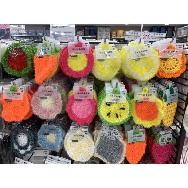 韓國🇰🇷代購超好洗回購率200%菜瓜布洗碗布草莓菜瓜布